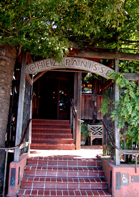 Photo of Chez Panisse entry way