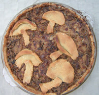 Oyster and shiitake mushroom pie, photo courtesy of Sustainable Table