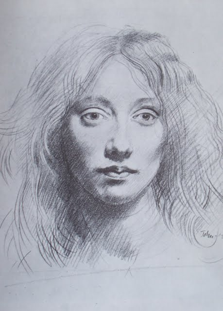 artifacts the drawings of augustus john