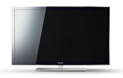 gigantic Samsung TV � it's