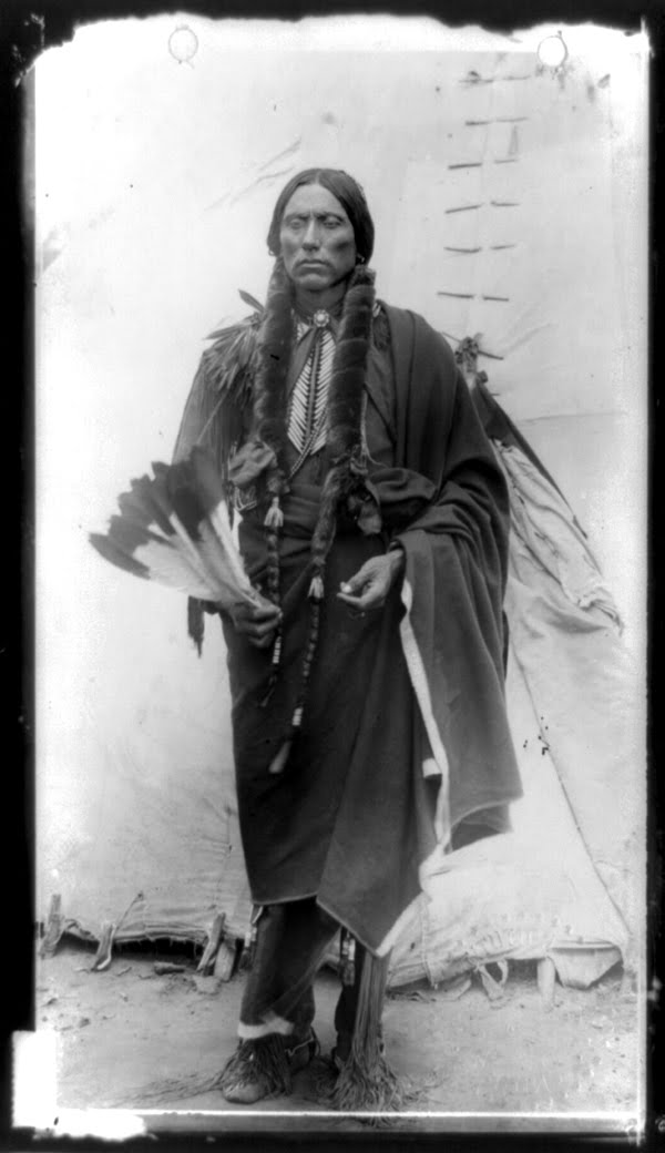 Quanah Parker, Chief of the Comanche, ca.1909 (photographer unknown ...