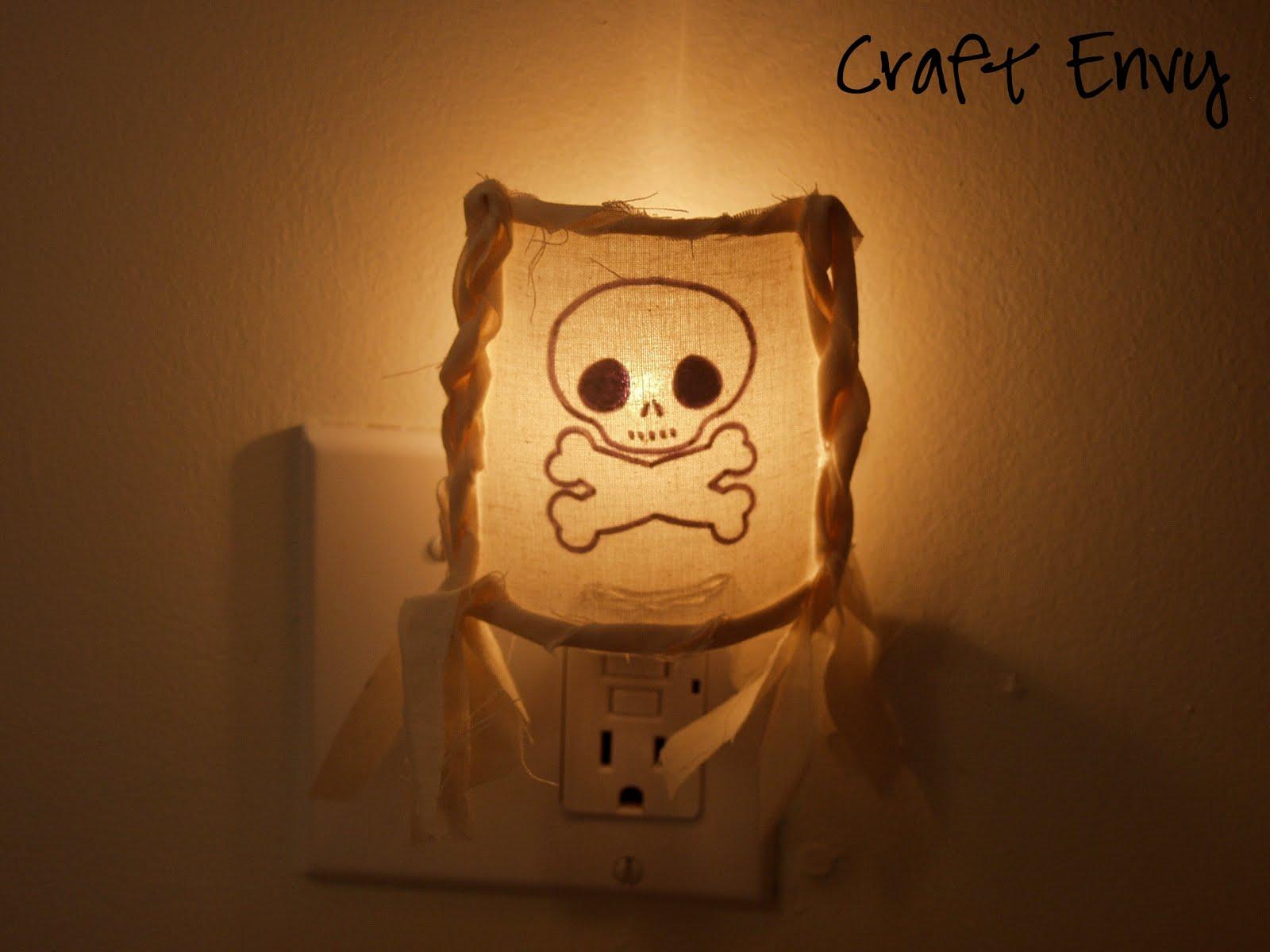 Craft Envy: Pirate Nightlight