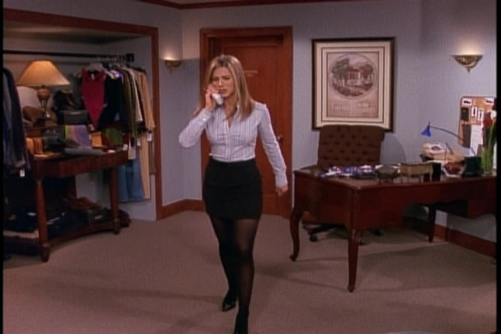 Jennifer Aniston pantyhose