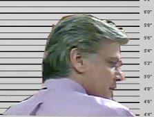 Glenn Savona police mugshot parody
