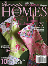 My artwork featured in the magazines:ROMANTIC HOMES: