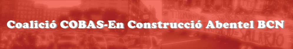 Coalició COBAS-En Construcció Abentel BCN
