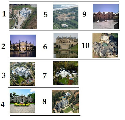 What are your Top 10 Favorite Homes?