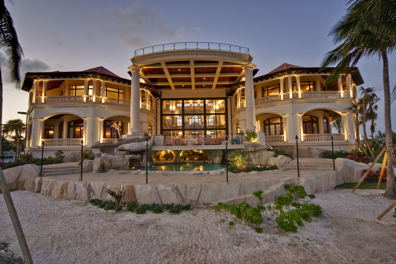 Cayman islands mega mansion homes of the rich for Large luxury homes