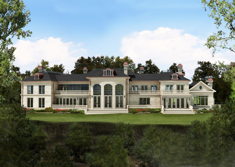 Newly built grand mississauga mansion homes of the rich for Saxony homes