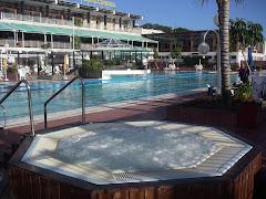 Las Palmas. Jacuzzi y piscina