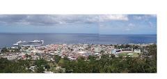 DOMINICA 9. Panoramica Roseau