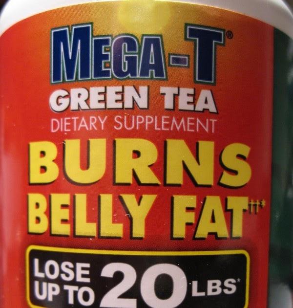 Green tea burns belly fat