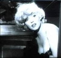 Marilyn Monroe interpretando a Sugar Kane