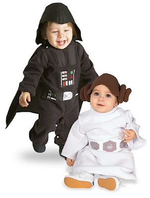 Baby Vader & Baby Leia