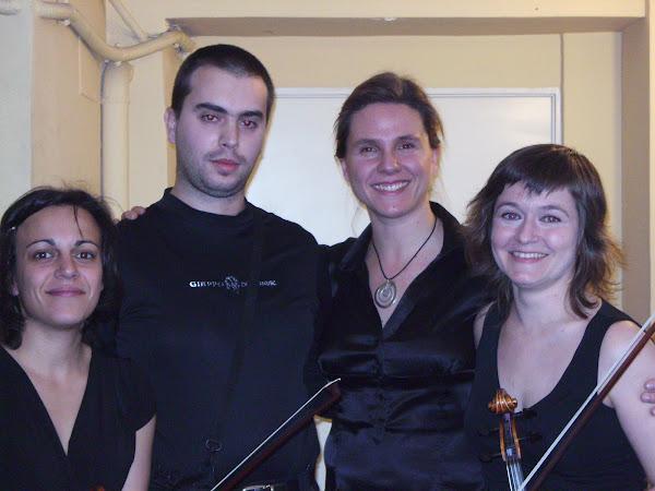 Isabel Aragon, Amaia Zipitria y Marta Hernando