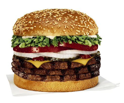 The Healthy Boy The Worst Burgers In America