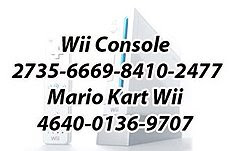 Wii friend numbers