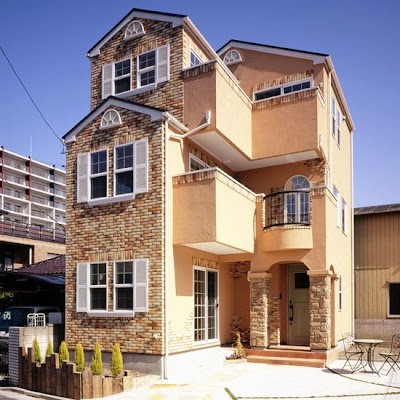 N 39 s antique roman the runch style houses for 3 story house