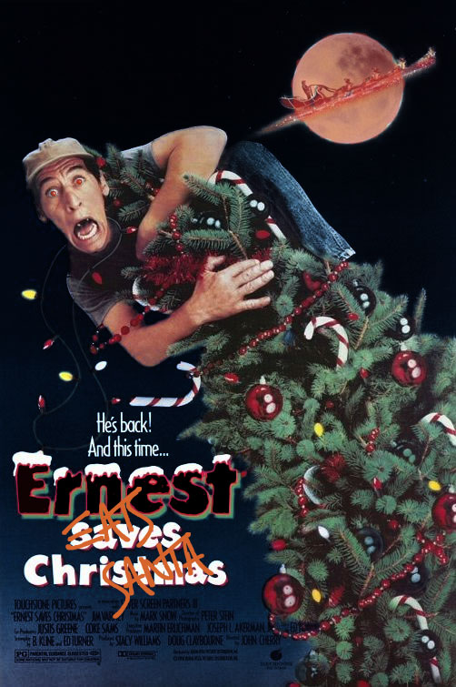 Ernest Saves Christmas possessed