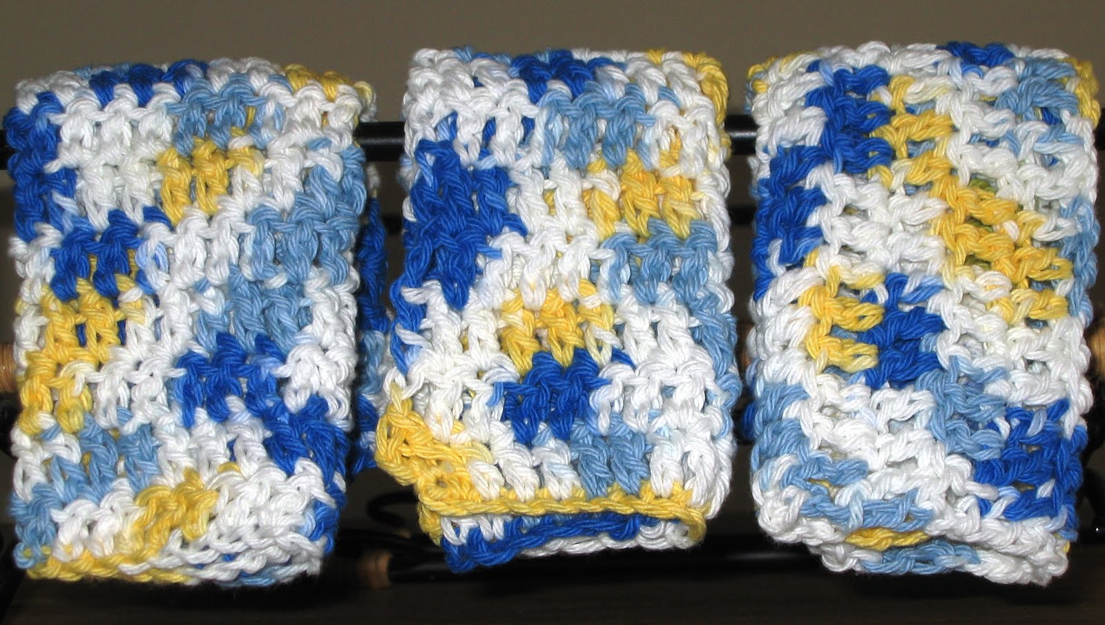 Handmade By Annabelle 7 Easy Steps To Make A Crochet Washcloth