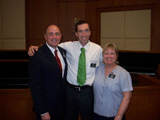 Elder Schulte with Pres. and Sis. Dodge