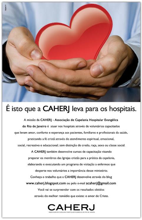 É isto que a CAHERJ leva para os hospitais