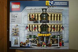 LEGO: 10211 Grand Emporiumが届きました