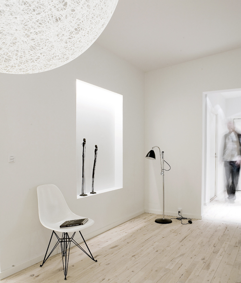 Residential interior design scandinavian minimalist by for Kar design apartments