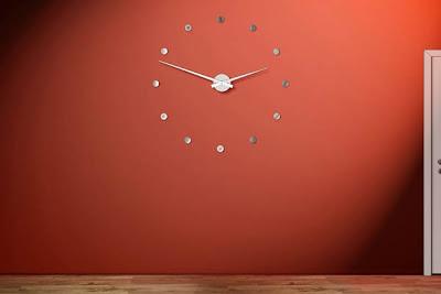 Декоративен часовник за стена - радиус