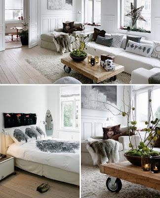 Декорация в бяло