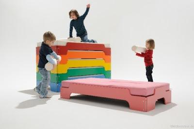 Детски легла - на етажи