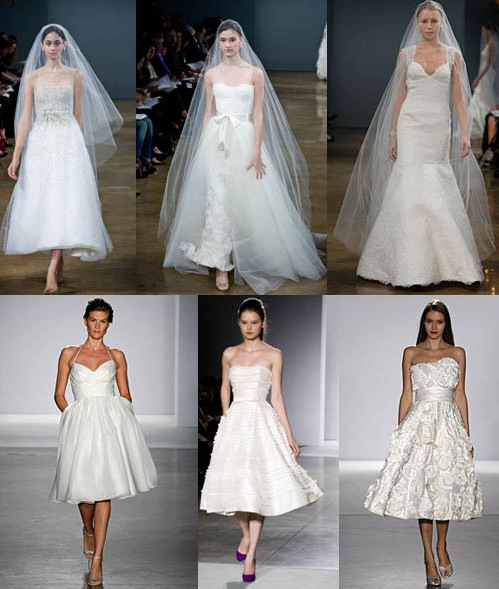 To save the wedding costs you must pick a short wedding dress