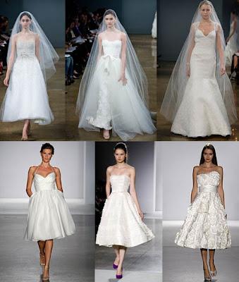 Trendy Short Wedding Dress 2010/2011