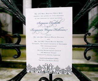 wedding invitations at mac & murphy - a charleston paper company