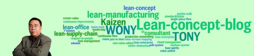 Tony Wong 's Lean Manufacturing Concept 's Blog