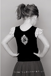 "girls tank ""vintage bird"""