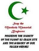 No Terrorist Memorial!