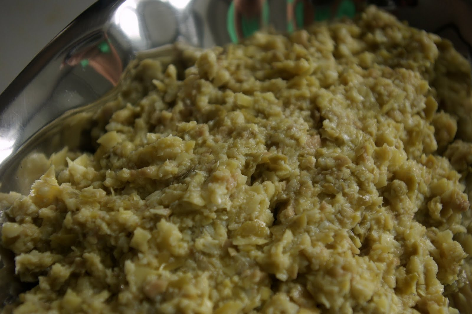 Artichoke And Green Olive Tapenade With Asiago Recipes — Dishmaps