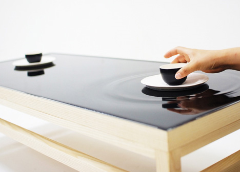 Amazing Ripple Effect Table