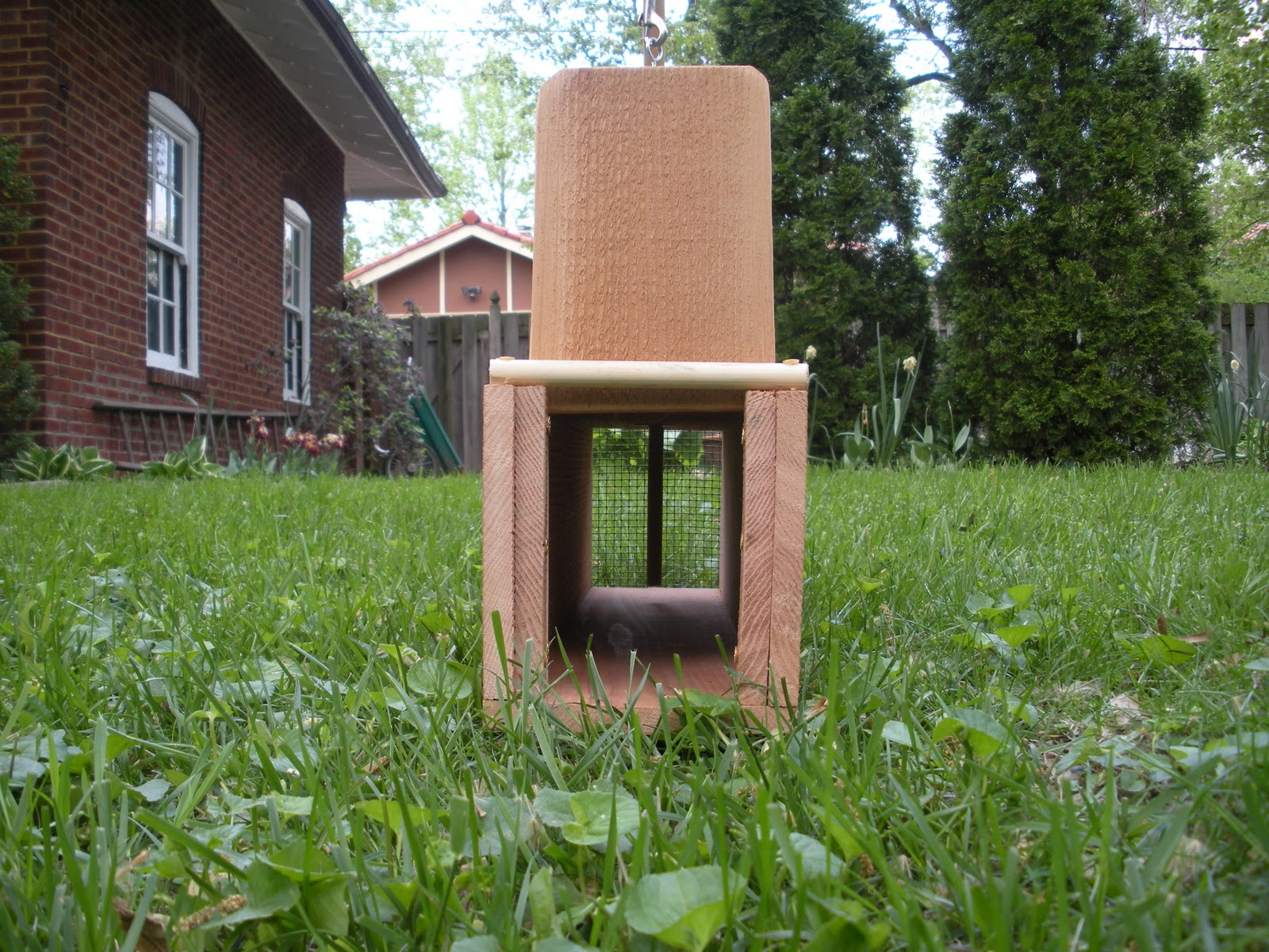 how to make a homemade rabbit trap easy