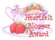 Heartfelt Blogger Award