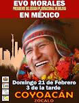 EVO MORALES EN MEXICO