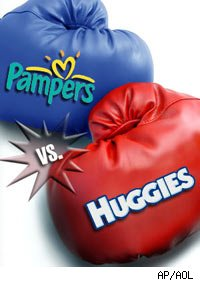 huggies vs pampers Find helpful customer reviews and review ratings for huggies snug & dry diapers, size 1  be a bit smaller vs  of huggies and pampers trying to.