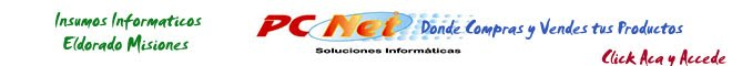Pc Net - Eldorado Misiones Argentina