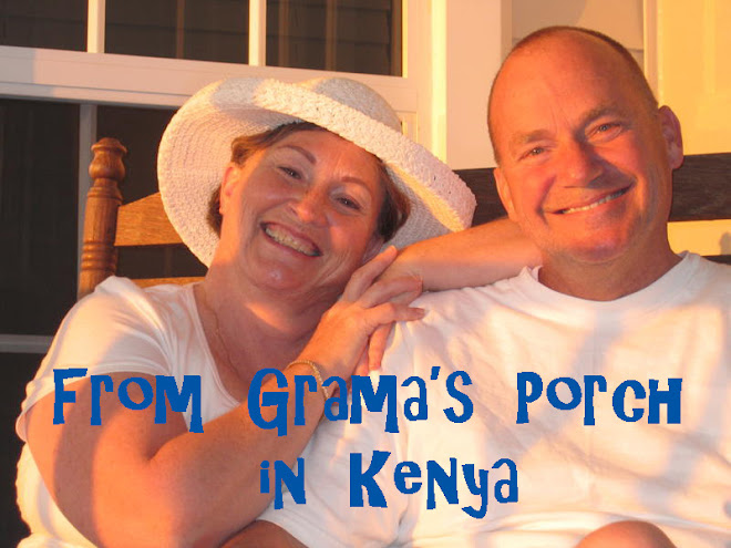 Fom Grama's Porch in Kenya