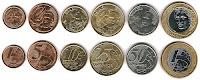 ブラジルの硬貨