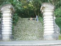 サンパウロ植物園の階段