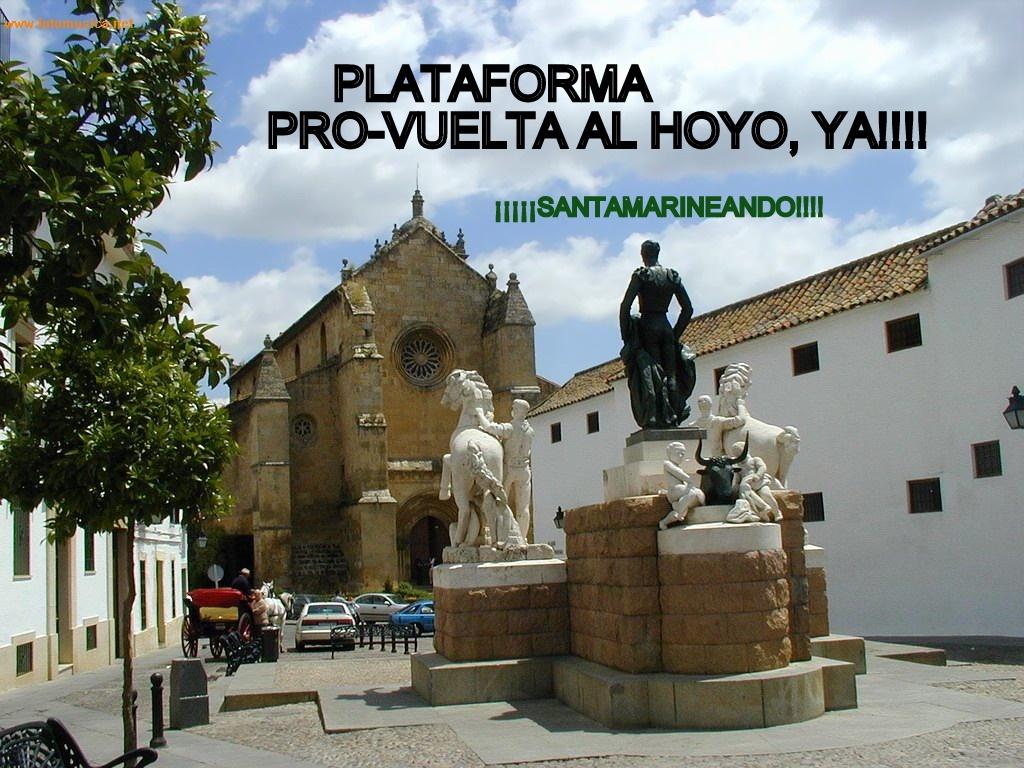 Plataforma pro-vuelta al Hoyo, YA!!