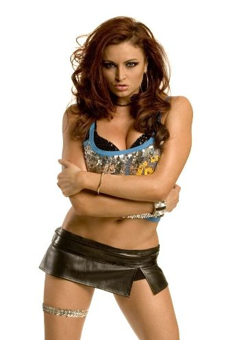 April 9th - WWE Diva and star of Celebrity Apprentice Maria Kanellis from 6