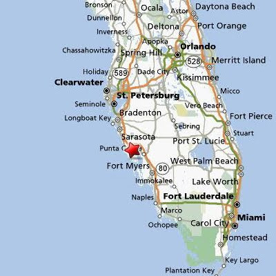 florida map of punta gorda